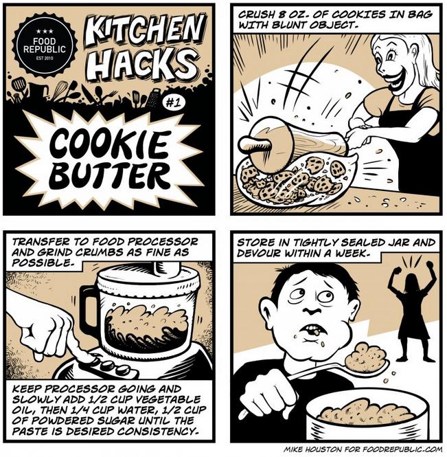 Food Hacks - Cookie Butter